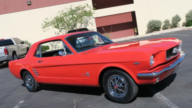 1966 Ford Mustang 289 V8 SAN JOSE CAR! P/S! NEW PAINT AND INTERIOR!
