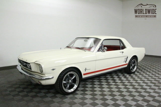 1966 Ford Mustang AC FUEL INJECTED 4 WHEEL DISC MUSTANG 2!