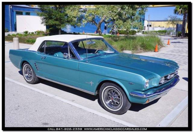 1966 Ford Mustang C-Code 289 Auto