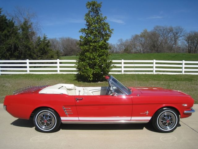 66 mustang convertible 289 turbo