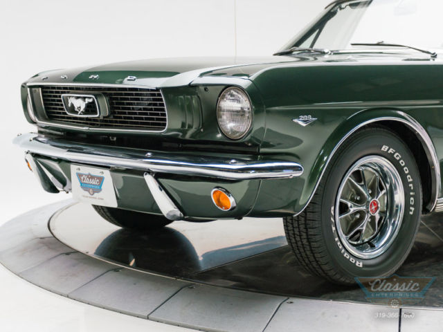 1966 Ford Mustang Convertible 4 Speed C Code V8