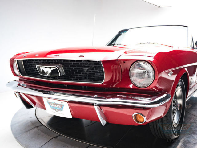 1966 Ford Mustang Convertible C Code 289 V8