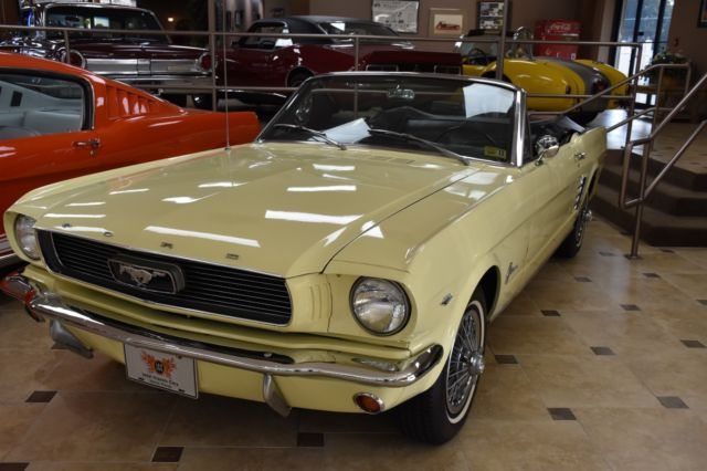 1966 Ford Mustang Convertible Original Bill of Sale & Owners Card!