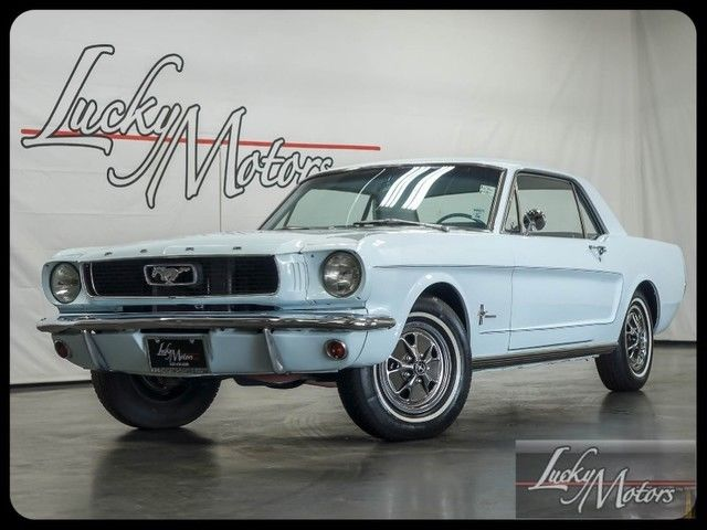 1966 Ford Mustang Limited Edition Sprint 200 B Package