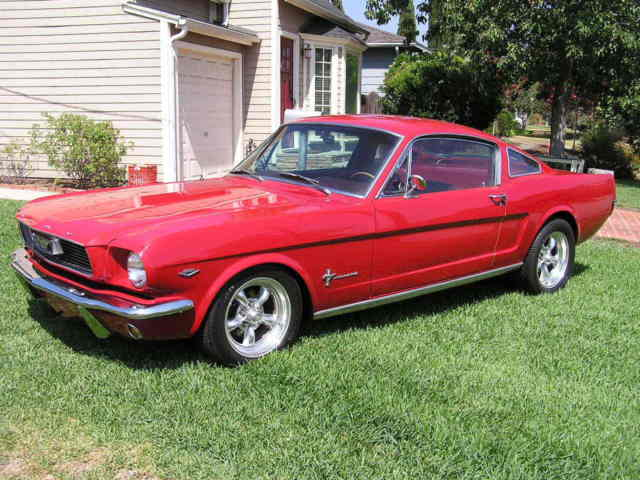 1966 Ford Mustang Fastback, Mint Condition.