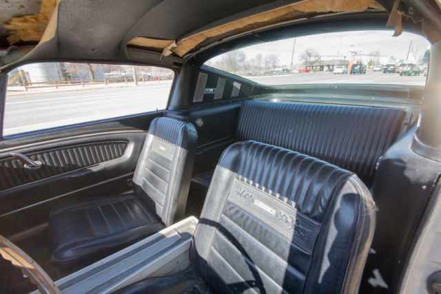 1966 ford mustang fastback shelby clone 289 pony interior for sale photos technical for 1966 ford mustang pony interior