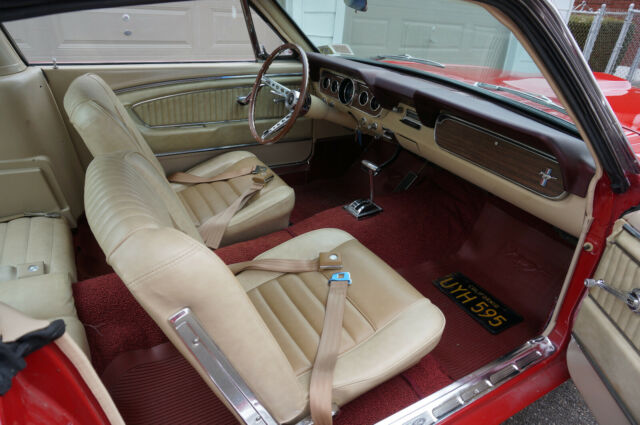 1966 ford mustang fastback with pony interior for sale photos technical specifications