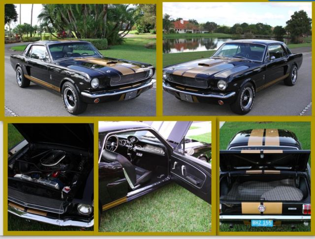 1966 Ford Mustang GT 350 H ProTouring Shelby Cobra Custom Tribute