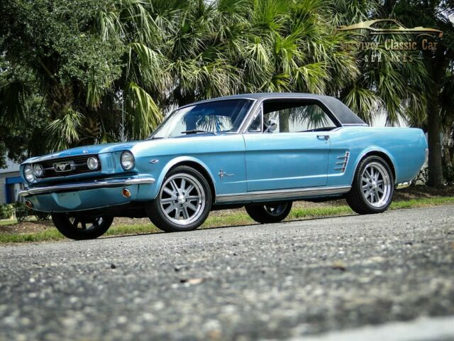 1966 Ford Mustang GT Tribute 27,330 Miles Turquoise 2 Door Hardtop  3 Speed Auto