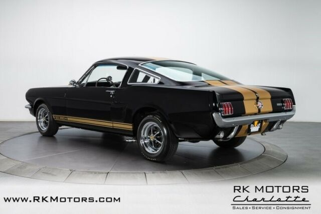 1966 Black Ford Mustang GT350H Fastback with Black interior