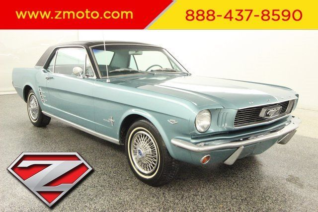 1966 Ford Mustang Local Trade, Leather, Classic, Light Blue Exterior