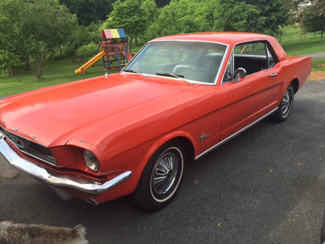 1966 Ford Mustang Sprint 200 Model