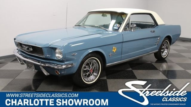 Cl Mustang >> 1966 Ford Mustang Lone Star Limited Bluebonnet Coupe 289 V8 3 Speed