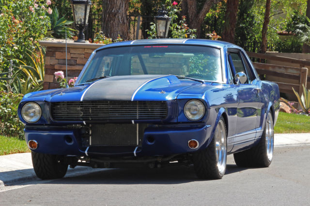 1966 ford mustang pro touring stroker roll cage tubs ladder bars stunning videos for sale