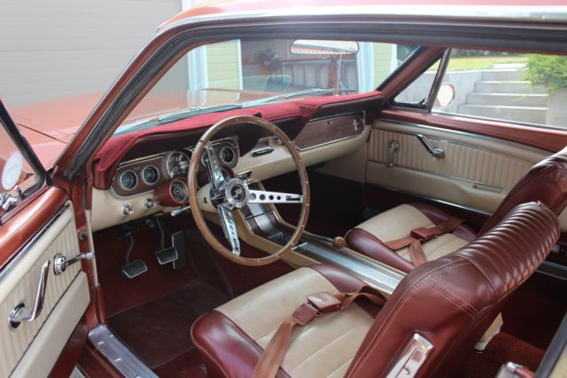 1966 ford mustang rare rallypac pony interior restored for sale photos technical for 1966 ford mustang pony interior