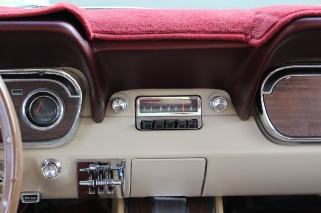 1966 Ford Mustang Rare Rallypac Pony Interior Restored For Sale Photos Technical