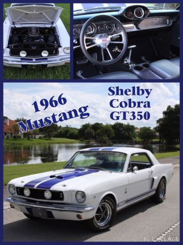1966 Ford Mustang Shelby Cobra GT350
