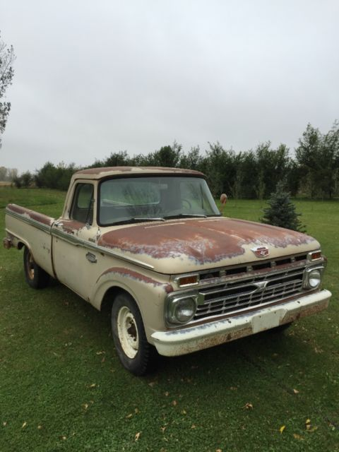 1966 Ford Other Pickups Custom cab
