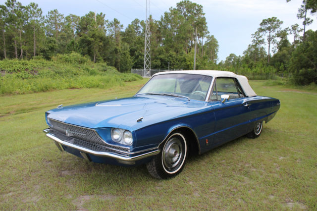 1966 Ford Thunderbird Convertible 428 Q Code Rare Call Now Must See