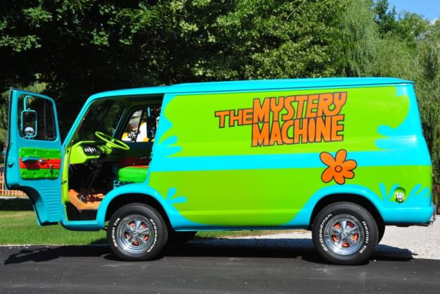 1966 GMC Handi-Van Scooby Doo Mystery Machine Promotional