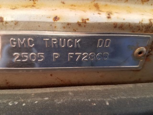 1966 Gmc One Ton Factory Camper Truck For Parts For Sale Photos