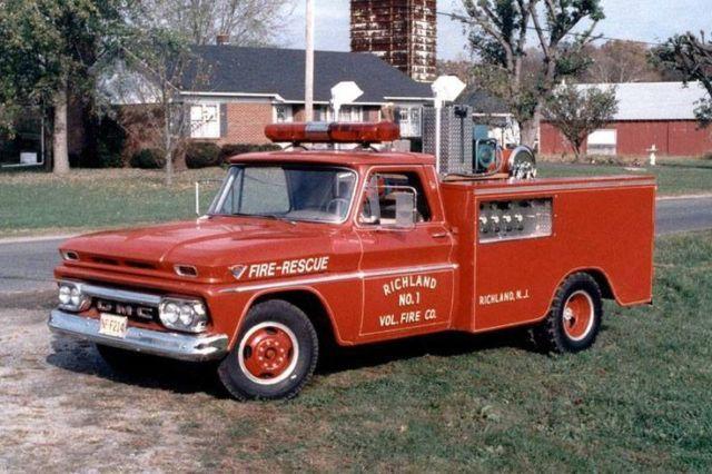 1966 gmc rescue squad fire truck 20 000 original miles c2500 firetruck utility for sale photos. Black Bedroom Furniture Sets. Home Design Ideas