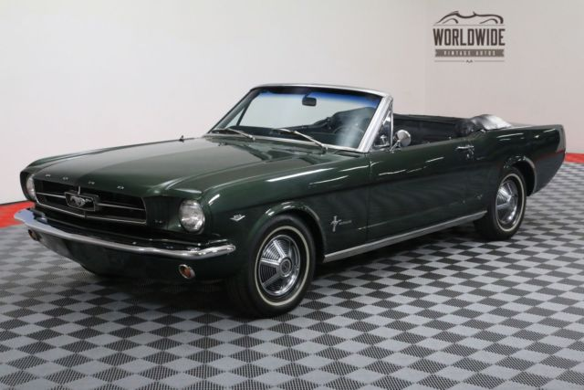 1966 Ford Mustang RESTORED. CONVERTIBLE. V8. AUTOMATIC