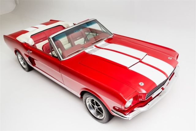 1966 Ford Mustang GT options
