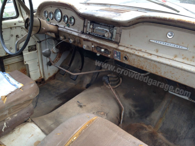 Value Of My Truck >> 1966 International Harvester IH 1200C 4x4 truck, patina for sale: photos, technical ...
