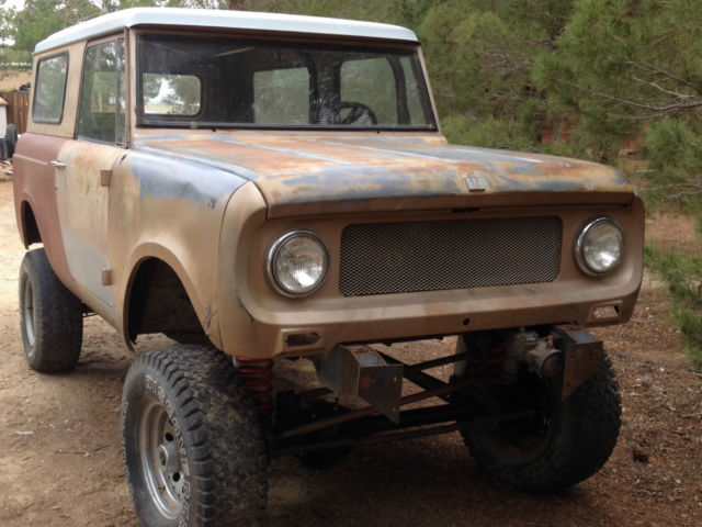 1966 international harvester scout 800 project vehicle 1 1966 international harvester scout 800 project vehicle for sale international scout 800 wiring harness at panicattacktreatment.co