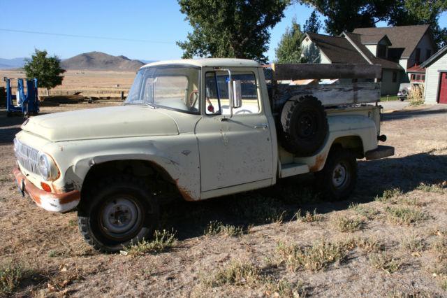 1966 International Pickup Truck 4x4 for sale: photos