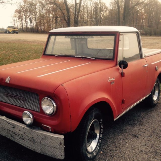 1966 International Harvester Scout II 800 AWD *RARE REMOVABLE TOP