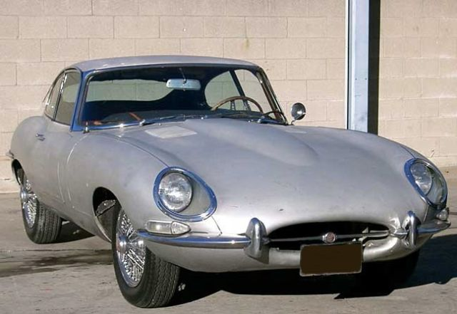 1966 Jaguar E-Type XKE FHC 2 seater