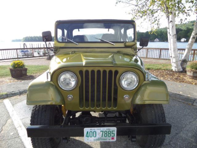 1966 jeep cj5 restored for sale photos technical. Black Bedroom Furniture Sets. Home Design Ideas