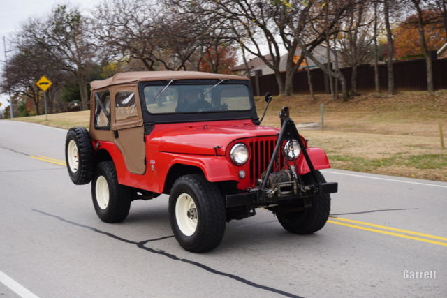 1966 Jeep CJ SUV