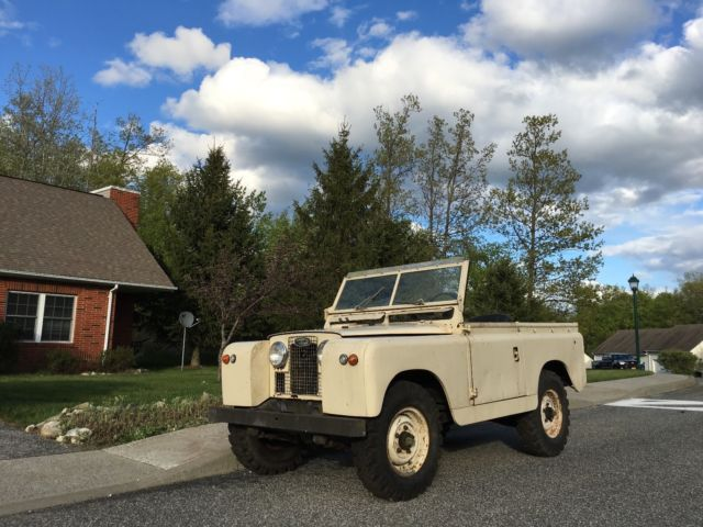 1966 Land Rover Series 2A 88 LHD Galvanized 2 25L gas