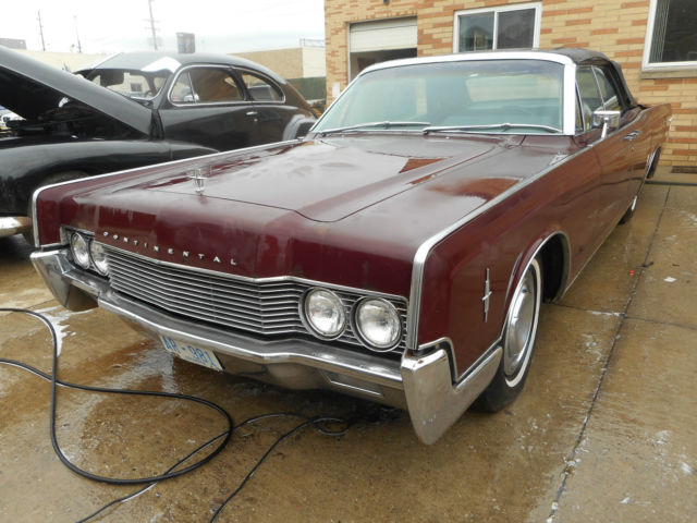 1966 Lincoln Continental NO RESERVE AUCTION - LAST HIGHEST BIDDER WINS CAR!