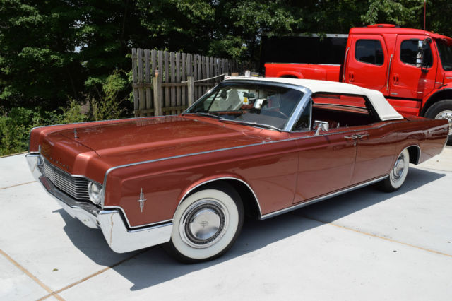 1966 lincoln continental convertible base 7 6l for sale. Black Bedroom Furniture Sets. Home Design Ideas