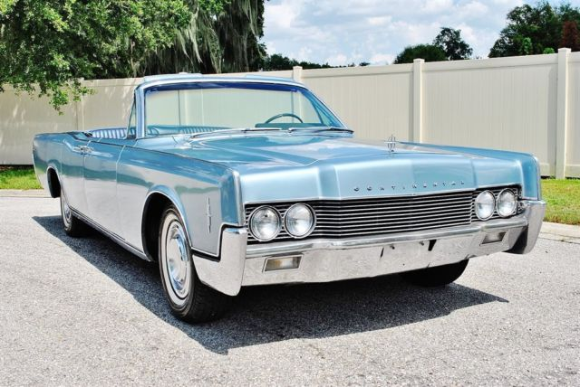 1966 Lincoln Continental Convertible Beautiful