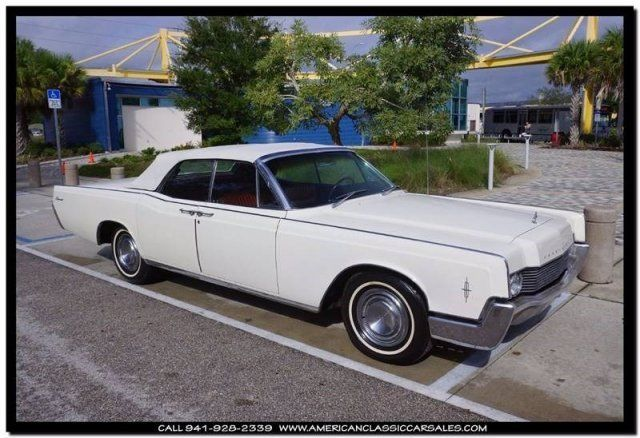 1966 Lincoln Continental Retractable