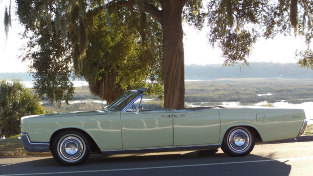 1966 LINCOLN CONTINENTAL CONVERTIBLE WITH SUICIDE DOORS & 1966 LINCOLN CONTINENTAL CONVERTIBLE WITH SUICIDE DOORS for sale ...