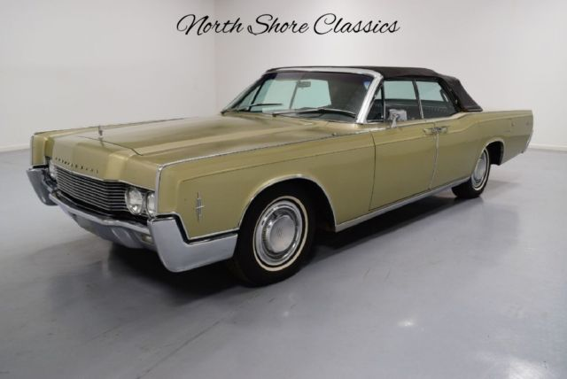 1966 Lincoln Continental -CONVERTIBLE-WITH SUICIDE DOORS-