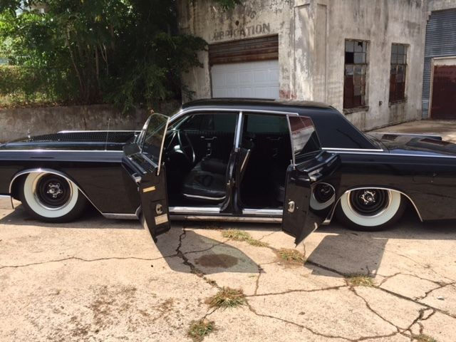 1966 Lincoln Continental Hales Speed Shop Turbo LS Bagged