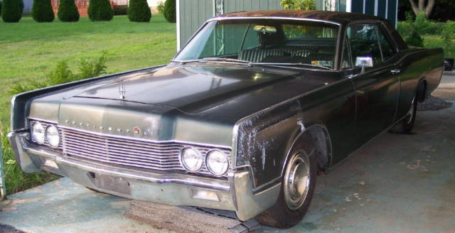 1966 Lincoln Continental Two Door Coupe for sale photos
