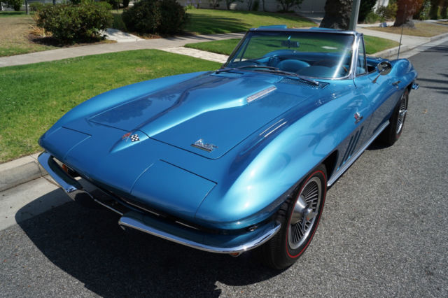 1966 Chevrolet Corvette 427/425HP V8 4 SPEED MANUAL CONVERTIBLE!