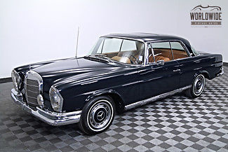 1966 Mercedes-Benz 200-Series 250 SE Coupe