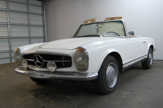 1966 Mercedes-Benz SL-Class Data Card Veified ZF 5 SPD Matching Numbers