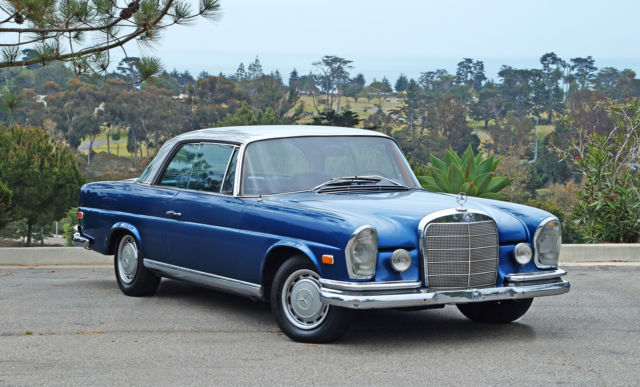 1966 Mercedes-Benz 200-Series 250SE Coupe