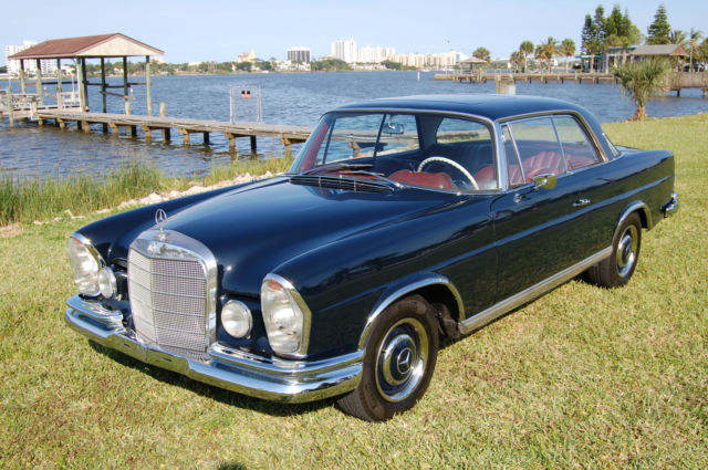 1966 Mercedes-Benz 200-Series Stunning Automatic w111 250se Coupe