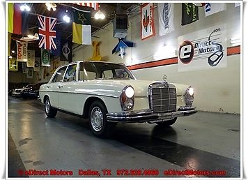 1966 Mercedes-Benz 200-Series 250SE